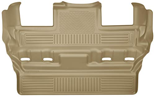 Husky Liners Fits 2015-19 Cadillac Escalade, 2015-19 Chevrolet Tahoe, 2015-19 GMC Yukon - with 2nd Row Bucket Seats Weatherbeater 3rd Seat Floor Mat,Tan,19303
