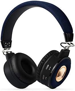 Over Ear Wireless Headsets, Over Ear Headset Hi-Fi Sound Deep Bass,Wireless Headphones, Headset for Travel,Online Class, Home Office, TV,E