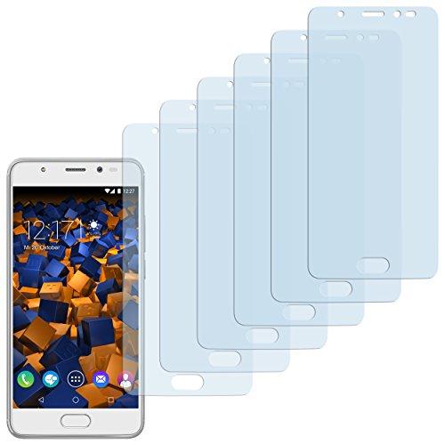 mumbi Schutzfolie kompatibel mit Wiko U Feel Prime Folie klar, Bildschirmschutzfolie (6X)