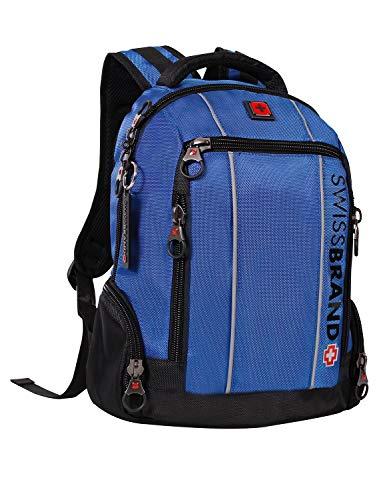 Swissbrand Men's Steel Backpack 48Cm