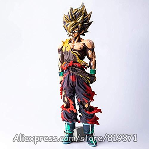 lkw-love 27 cm Dragon Ball Z MSP Master Star Figurilla Goku Vegeta Fusion Vegetto Figura Modelo Muñeca Dragonball Super Figura de Acción Juguetes-WK2dred-Wk2dred