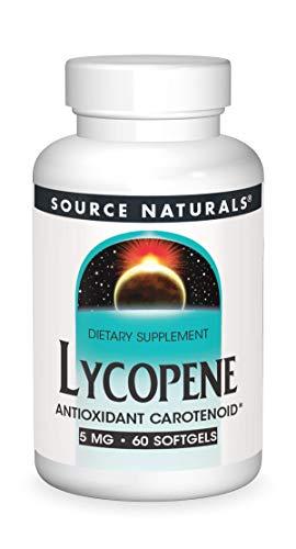 Source Naturals Lycopene 5 mg Antioxidant Carotenoid - 60 Softgels