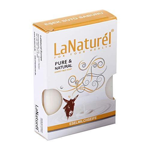 Jabón de leche de burro BIO especial Para Tu Salud - Tratamiento Efectivo Eczema y Psoriasis y Acné - Vegano - 100% Orgánico - Jabón Sólido - Limpiador Facial - 100 gr.