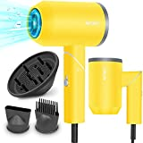 APOKE Hair Dryer with Diffuser, Professional...