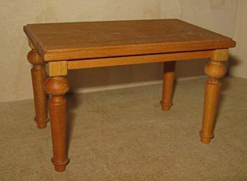 Liebe HANDARBEIT 46062 Tisch eckig Esstisch Holz-Kirsche 1:12 für Puppenhaus