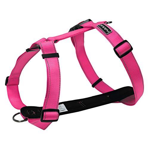 Rukka Pets Hundegeschirr, Gr. M, Hot Pink