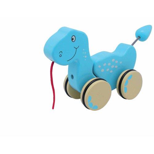 Speelgoed om te spelen met Dino Puller.