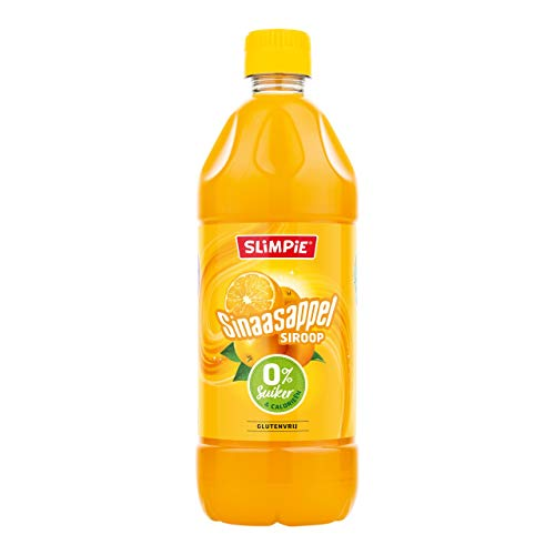 Slimpie Limonade Sirup Orange, zuckerfrei 6 PET-Flaschen x 58 cl