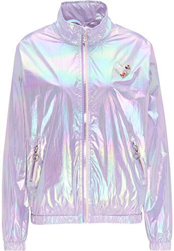 myMo Holographic Blouson Damen 12305786 Flieder holografisch, XXL
