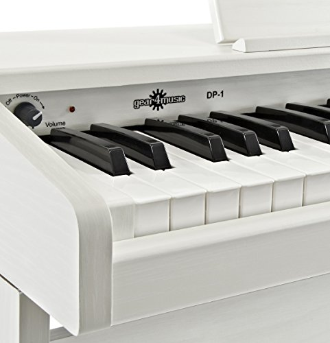 JDP-1 Junior Digitalpiano von Gear4music weiß - 6