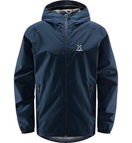 Haglöfs Betula GTX - Giacca da uomo, Uomo, giacca, 604790, blu (tarn blue), L