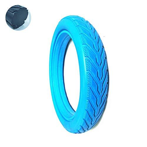 CHHD Neumáticos para patinetes eléctricos, neumáticos sólidos de 12x1,75 Colores, neumáticos a Prueba de explosiones sin Mantenimiento, sin inflado, neumáticos de PU para Cochecito/bi