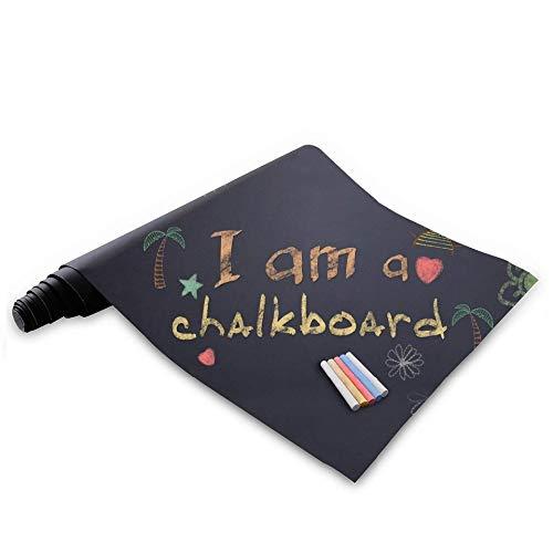 sdfrregf schoolbord Krijtbord Contact Papier Extra Grote Vinyl Muursticker Poster Lijm Blackboard Stickers Krijtborden Liner Roll Behang