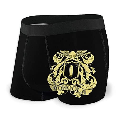 Jupsero Boxer da Uomo Vongola Logo 3D Print Mens Boxer Briefs Custom Design Men Underwear