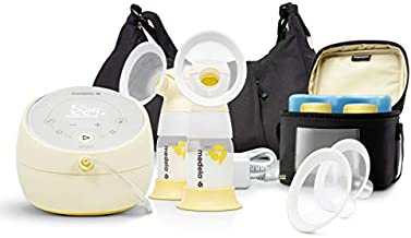 Medela Sonata Smart Breast Pump, Hospital Performance Double Electric Breastpump, Rechargeable, Flex Breast Shields, Touch Screen Display, Connects to Mymedela App, Lactation Support
