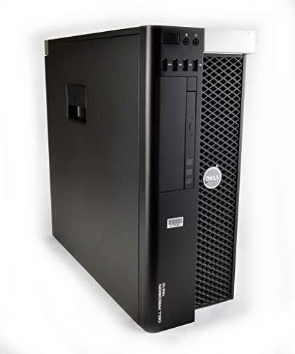 Dell Precision T5610 Workstation PC Base Unit Intel Xeon Processor Black/Silver Genuine Windows 10 Professional 12 Months Warranty (Xeon E5-2637 v2, 32GB RAM, 500GB HDD)