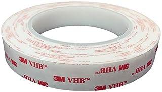 5Metros 3MTM vhbtm4950cinta adhesiva–Cinta adhesiva de alto rendimiento–doble cara cinta adhesiva–Montaje–Tape–Cinta adhesiva B: 20mm, H: 1mm