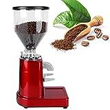Molinillo de café de alta calidad de 1 litro con gran capacidad de granos de café molinillo de café eléctrico accesorio para la preparación de café (rojo, rosa)