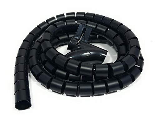 Bambelaa! Tubo Organizador Cables Plástico Flexible 3,0 m De Longitud Diámetro De...