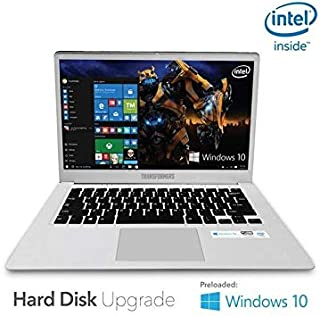 """Transformers 14"""" Windows Hard Disk Support Notebook Silver"""