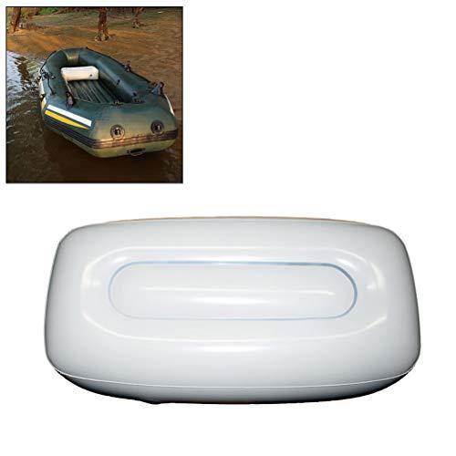 AimdonR PVC Kanu Kajak Aufblasbares Luftkissen Outdoor Angeln Schlauchboot Sitz Luftkissen Segelboot Sitzkissen