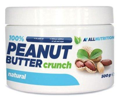 AllNUTRITION 100% peanut boter kroon pindakaas peanut boter kweeksel eiwitten ontbijt 1000 g