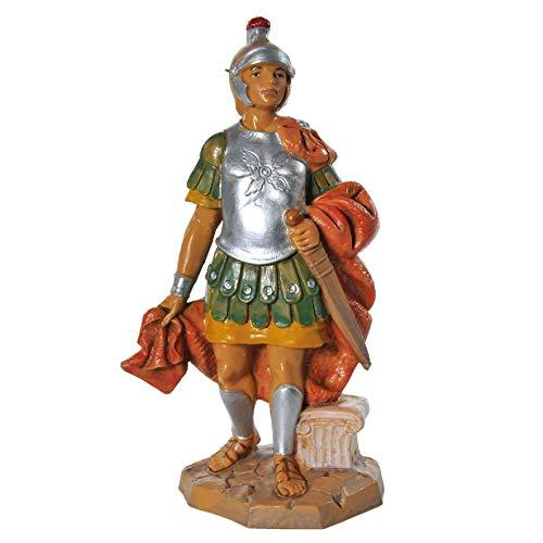 Statuina presepe Statua Centurione Romano con gladio (159) 12cm Tipo Legno Fontanini