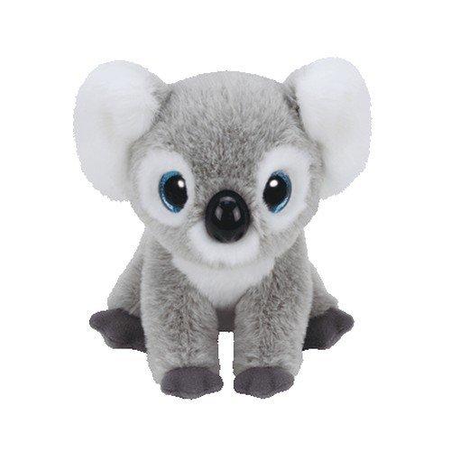 Carletto Ty 90235 - Kookoo Koala mit Glitzeraugen, Classic, 21 cm, grau