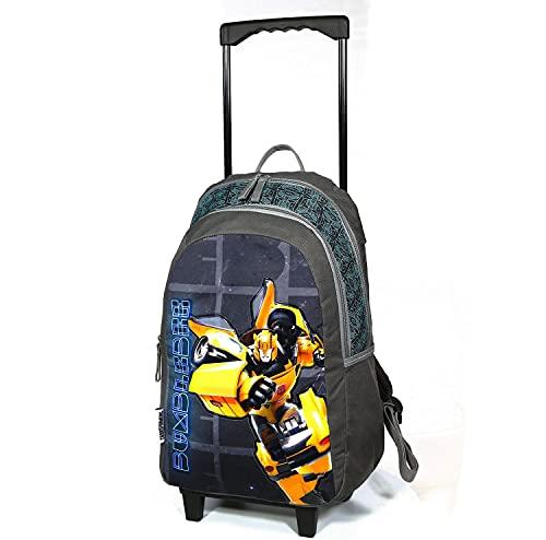 Sac à Dos à roulettes Transformers Bumblebee Gris Bagtrotter