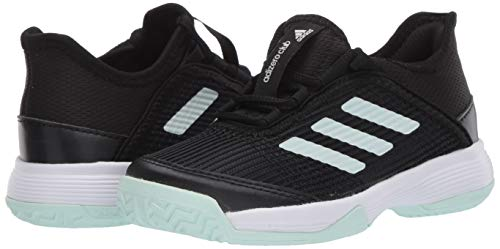 Product Image 7: adidas Unisex-Kid's Adizero Club Sneaker, core Black/Dash Green/FTWR White, 11K M US Big Kid