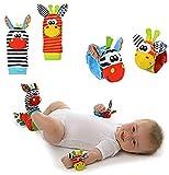 Fablcrew Baby Spielzeug hochwertiges Kleinkindspielzeug dem Spielhandschuh Greifling zur Stärkung der Eltern-Kind-Bindung ab 0 Monate