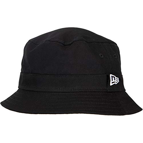 New Era Logo Bucket Hat Fischerhut (L, Black)
