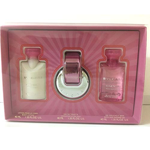 Bvlgari > Omnia Pink Sapphire Eau de Toilette Geschenkset 3 Artikel im Set