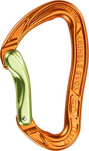 Climbing Technology Nimble Evo B 2 C39300wblctstd Mousqueton, Vert/Orange, Taille Unique