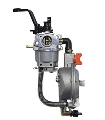HXFANG LPG 168 carburador de Doble Combustible GLP GN Kit de conversión en Forma for 2KW 3KW 168F 170F Generador de Gasolina de Doble Combustible del carburador