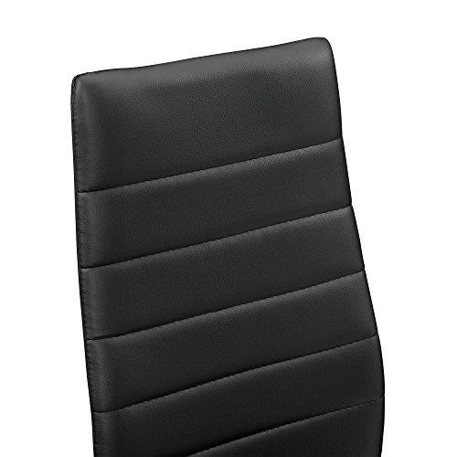 [encasa] Moderner Esstisch Schwarz/weiß kaufen  Bild 1*