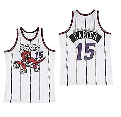 NBA Toronto Raptors 15# Vince Carter Vintage All-Star Jersey, Camiseta de Hombre y Unisex Shorts de Baloncesto Jersey (Talla: S, M, L, XL, XXL) (B,M)