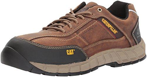 Caterpillar mens Streamline Leather Ct Work Shoe, Dark Beige, 10.5 US