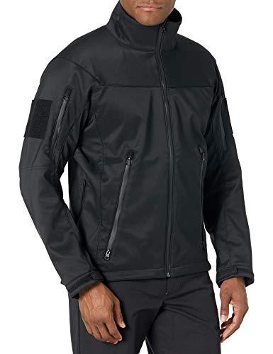 Tru-Spec Men's 24-7 Series Tactical Softshell Jacket, Black, X-Large