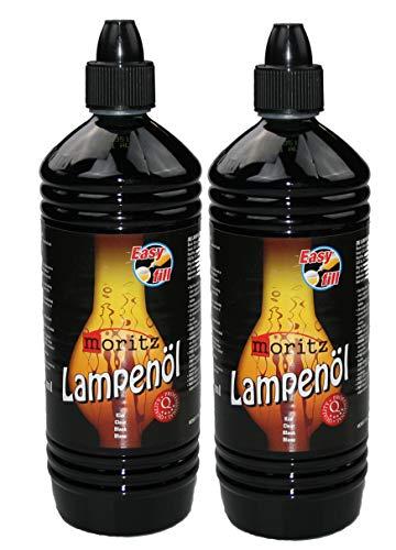 Moritz 2 litri di olio per lampade a olio, torce di bambù, torce da giardino e torce da parete