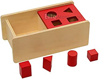 Elite Montessori Imbucare Box with Flip Lid with 4 Shapes