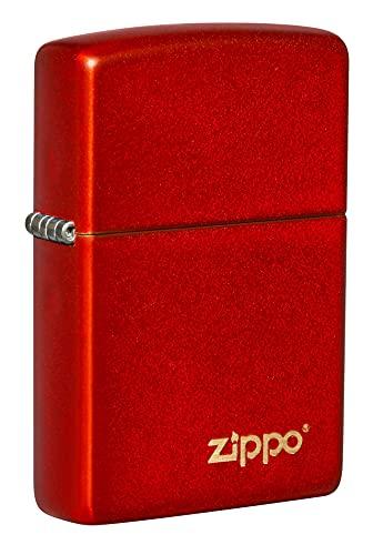 Zippo Metallic Red Mate w