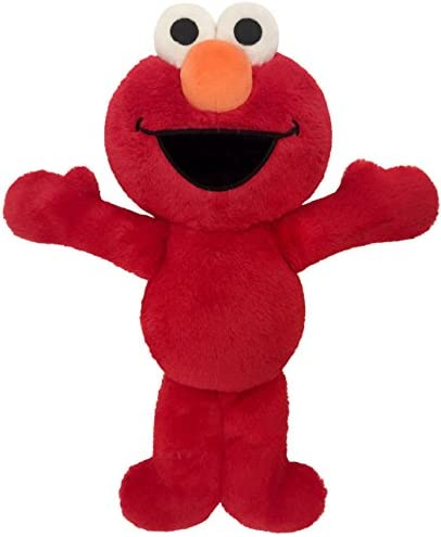 """Sesame Street Plush Stuffed Red Elmo Pillow Buddy - Super Soft Polyester Microfiber, 20"""" Inches - (Official Sesame Street Product)"""