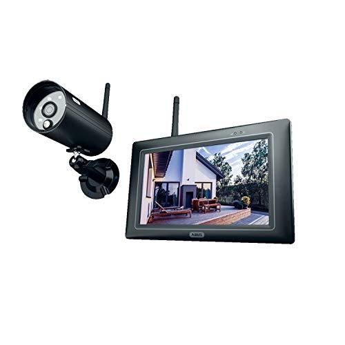 ABUS OneLook Videoüberwachungsset PPDF16000 - 1080p Funk-Außenkamera mit 7
