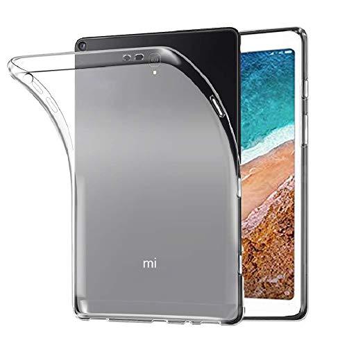REY - Cover in Gel TPU Trasparente per XIAOMI Mi Pad 4 8', Ultra Sottile 0,33 mm, Morbido Flessibile, Custodia Silicone