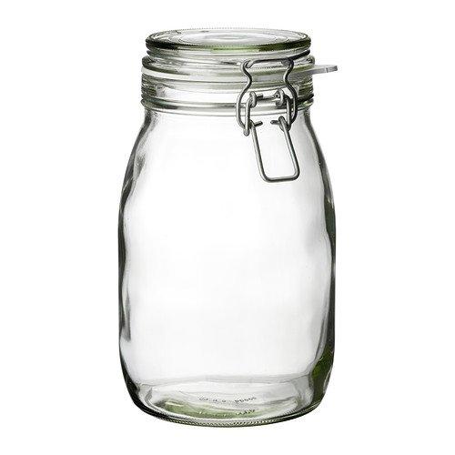KORKEN/ふた付き容器/クリアガラス(1.8 l)[イケア]IKEA(50213551)