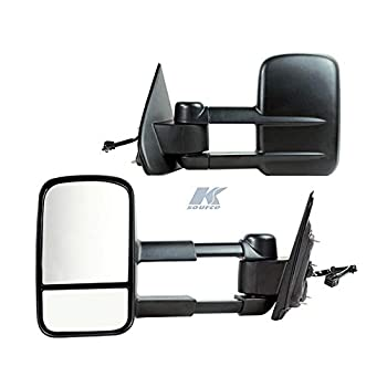 Fit System K Source 6214748G Towing Mirrors Sierra/Silver