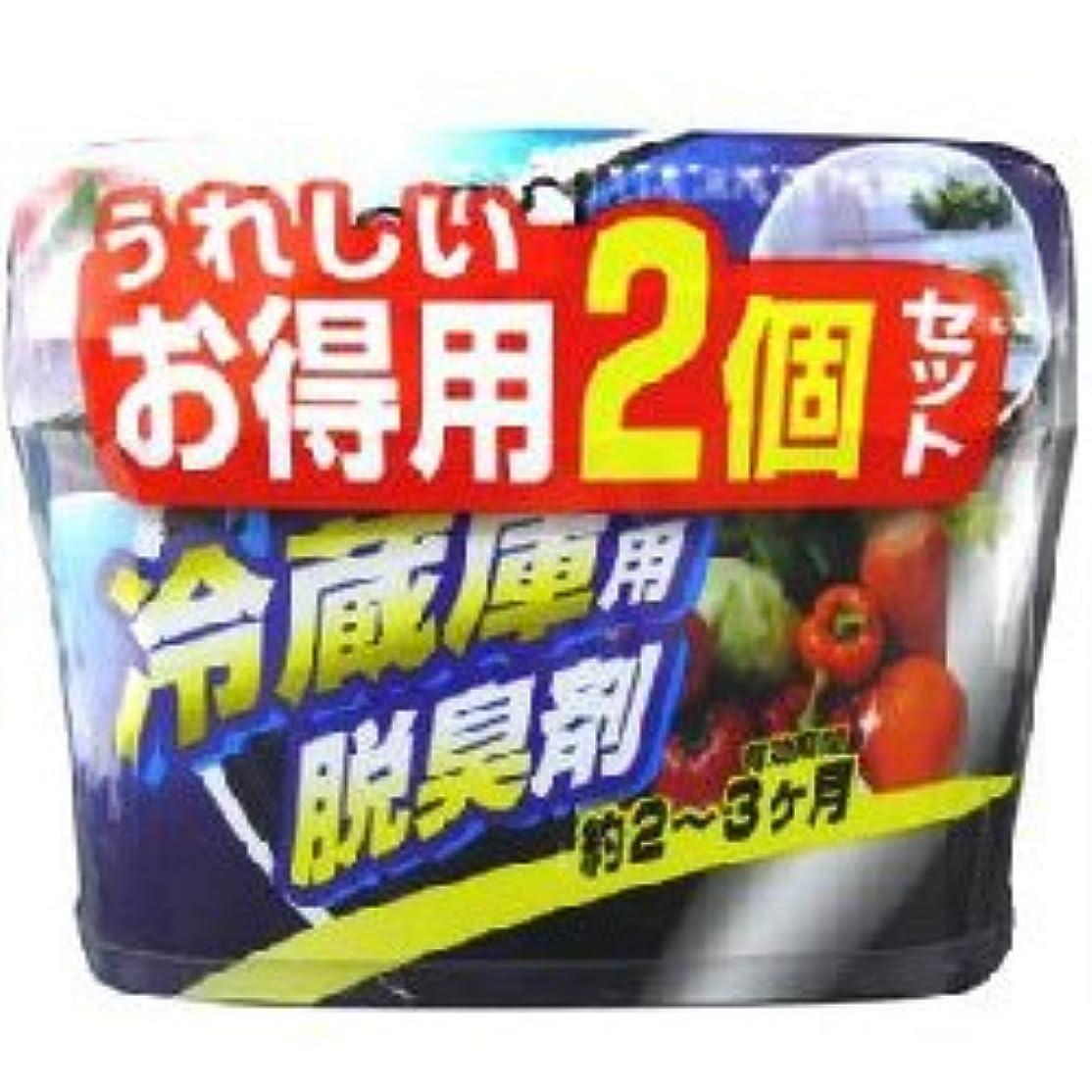 開拓者合意行進【ウエ?ルコ】炭の冷蔵庫用脱臭剤2個セット ×10個セット