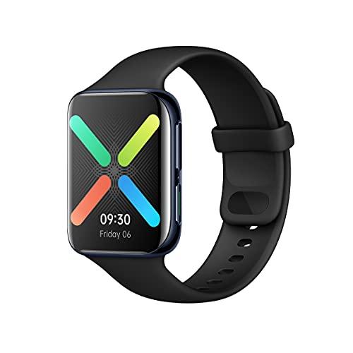 OPPO Smartwatch da 46 mm, Schermo AMOLED 1.91  , GPS, NFC, Bluetooth 4.2, 1GB+8GB, WiFi, Wear OS by Google, Funzione di Ricarica Rapida VOOC, [Versione Italiana], Colore Black