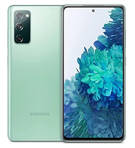 Samsung Smartphone Galaxy S20 FE con Pantalla Infinity-O FHD+ de 6,5 Pulgadas, 6 GB de RAM y 128 GB de Memoria Interna Ampliable, Batería de 4500 mAh y Carga rápida Verde (Version ES)